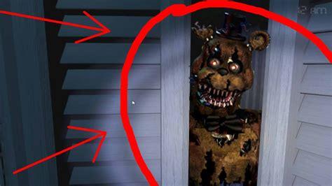 Nightmare In Closet by Nightmare Freddy Found In Closet Fnaf 4