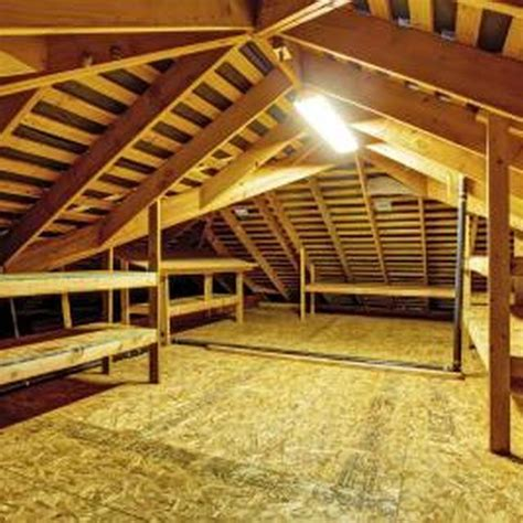 what size plywood for an attic floor storage spaces and