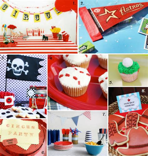 birthday themes for boy and girl boys party ideas party favors ideas