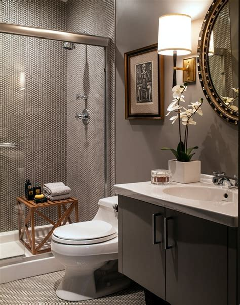 18 dramatic masculine bathroom designs white tile grout barbara barry refined rib