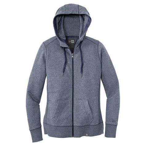Winter Twist Hoodie Navy new era s true navy twist terry zip hoodie