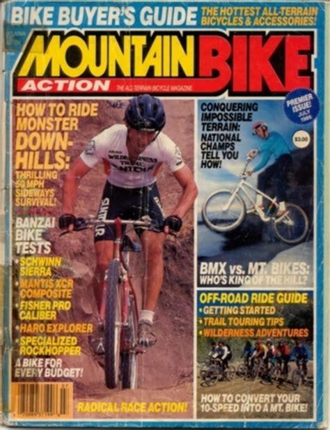 Mba Bike by Mountain Bike July 1986 Retrobike