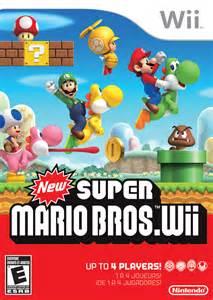 super mario brios new super mario bros wii wii play games