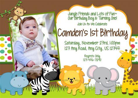 safari themed birthday invitations safari themed birthday