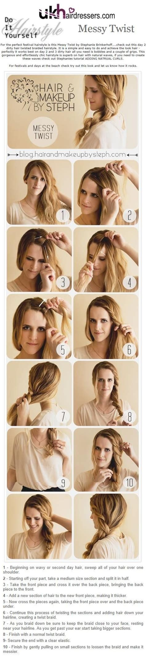 diy twist hairstyles pinterest discover and save creative ideas