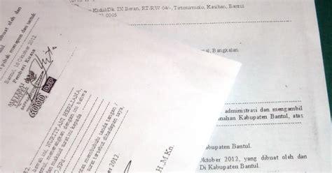 contoh surat kuasa sertifikat tanah dan unduh gratis sepuasnya