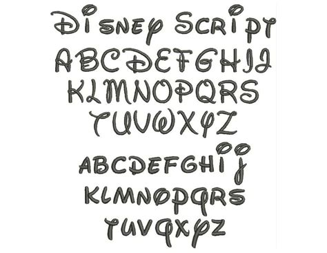 tattoo fonts pinterest disney fonts free pin walt disney script sjacaqdr free
