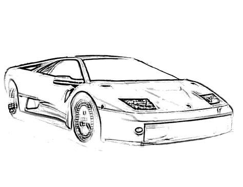 free coloring pages of vintage cars