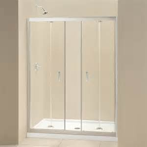 bi folding shower doors dreamline shdr 4558720 butterfly frameless bi fold shower
