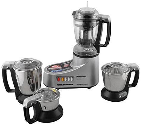 Panasonic Blender Mixer Grinder Mx Ac400 Diskon panasonic mx ac400 silver 4 jar mixer grinder 550w at glowroad uevbig