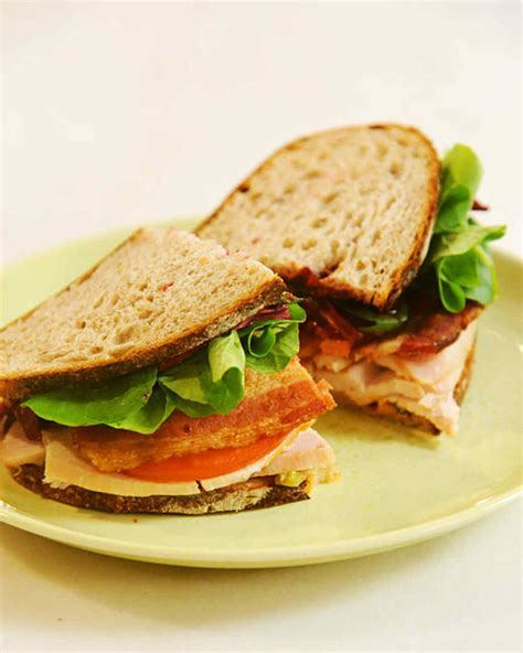 turkey sandwich recipes martha stewart