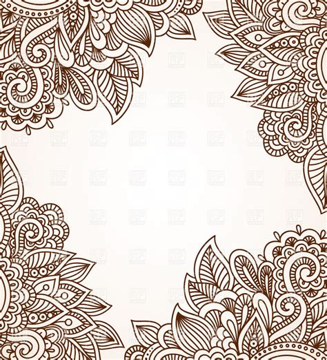 ethnic ornaments ethnic ornament background vector image 28781