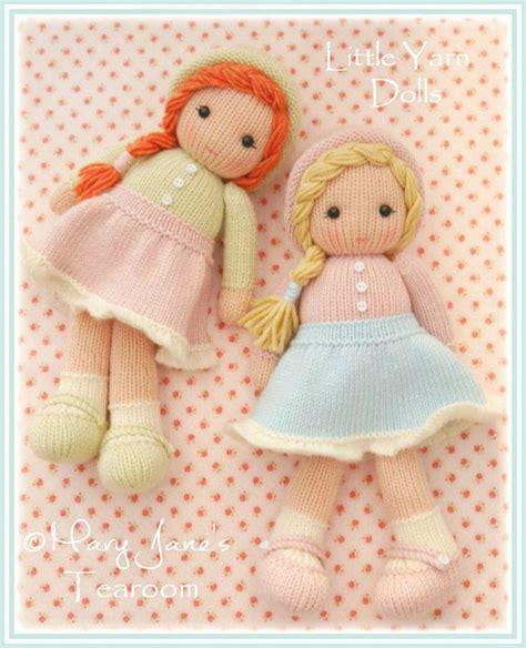 Pattern For Yarn Doll | little yarn dolls pdf doll knitting pattern method 1