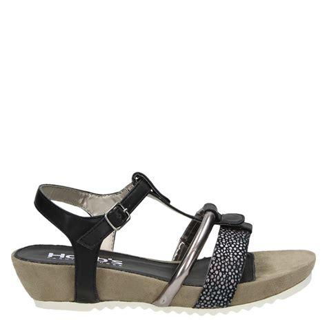 sandal merk conexion uk 36 37 hobb s sandalen zwart