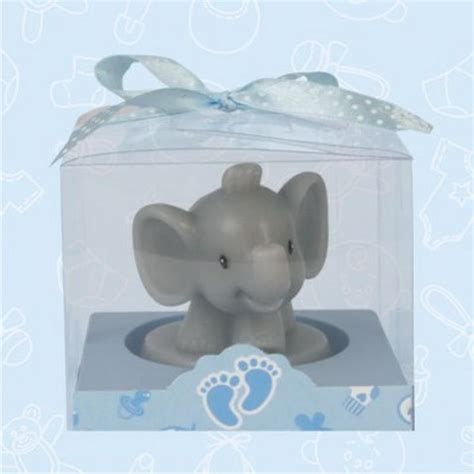 baby shower favors elephant safari elephant baby shower candle favor