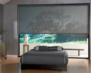 Custom Shades Designer Screen Roller Shades With Standard Clutch