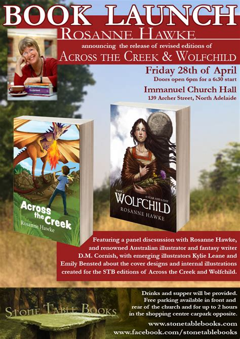 across the creek books last i was extremely honoured to be part of a book