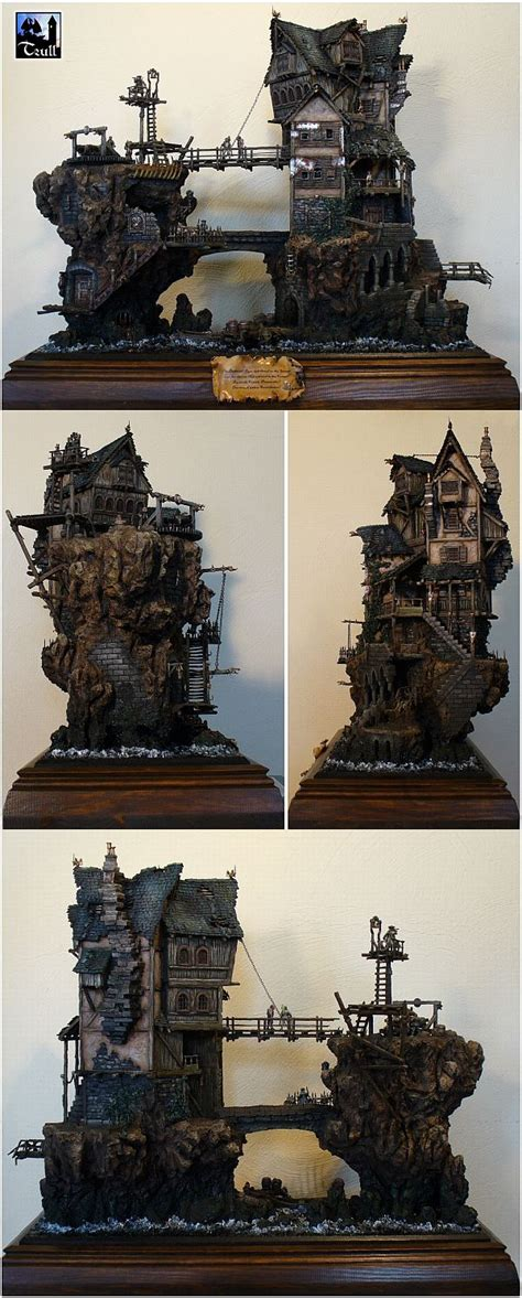 2 dark inspiration ii 988132047x 25 best ideas about miniature houses on doll houses village houses and diy dollhouse