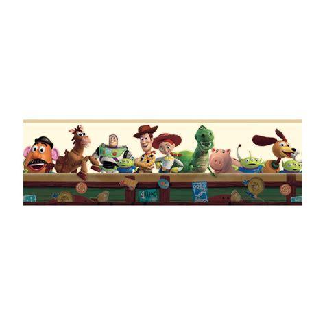 Kitchen Wallpaper Borders Ideas York Wallcoverings Disney Kids Toy Story Wallpaper Border