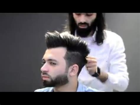 New Style new style how to cut a modern haircut and beard step