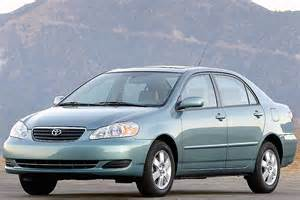 Toyota Corolla 2007 Mpg 2007 Toyota Corolla Reviews Specs And Prices Cars