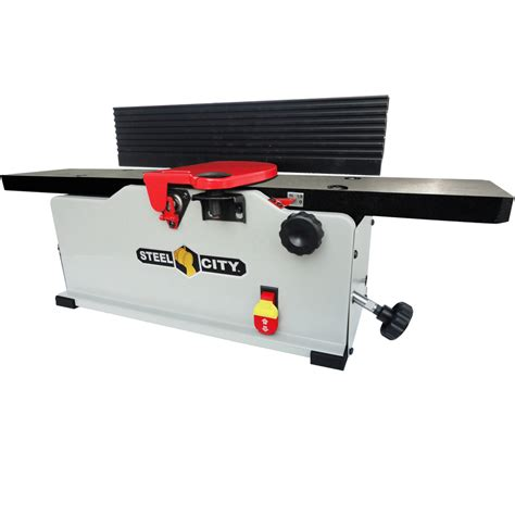 bench joiners shop steel city 115 volt bench jointer at lowes com