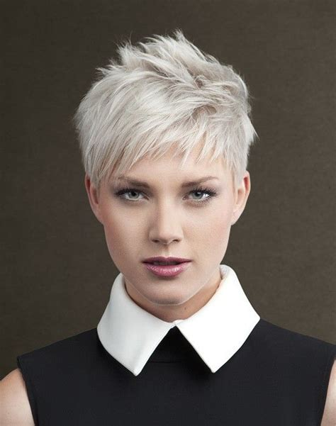 short white hair best 25 short gray hairstyles ideas on pinterest short