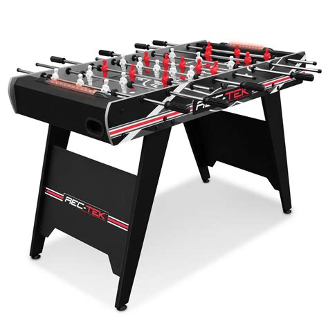 light up foosball table rec tek 48 in foosball table with led lights