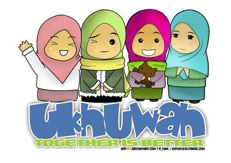 ukhuwah    kartun dakwah islam