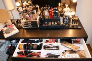 Makeup Organizer Ikea le r 234 ve d une vie ma nouvelle coiffeuse mercredie