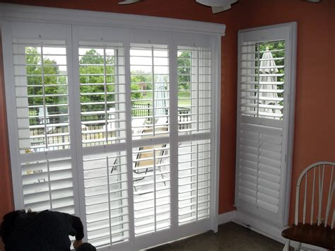 Interior Window Shutters Home Depot by Interior Amazing Look Of Window Coverings For Sliding