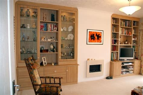 fitted living room cabinets oak glass display cabinet oak furniture solutions living room furniture display cabinet