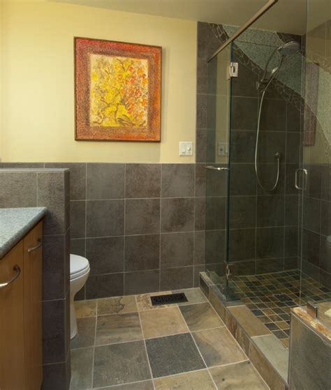 Waterfall Showers Bathroom Waterfall Shower Bathroom Contemporary Bathroom