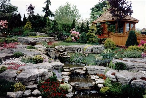Rock Garden Design And Construction Landscaping Ideas For Rockery Landscaping