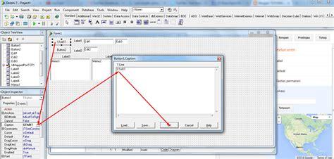 tutorial delphi dasar tutorial membuat injek tahap dasar dengan delphi 7 asly