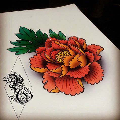 japanese rose tattoo designs 43 japanese peony tattoos collection