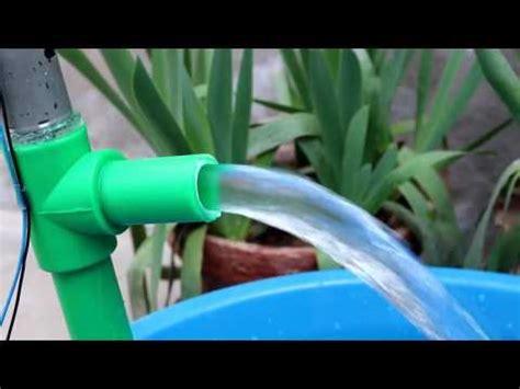 Pompa Air Mini Sederhana membuat pompa hidram sederhana videolike