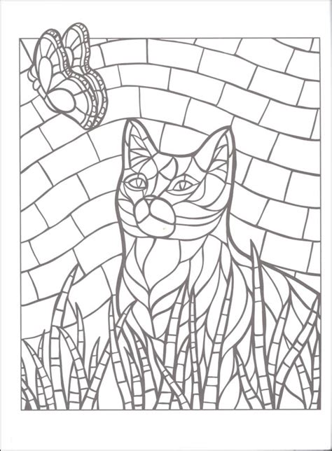 mosaic butterfly coloring pages butterfly mosaic coloring pages coloringstar