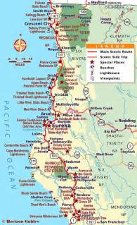 northern california coastline map map of northern california coastline images
