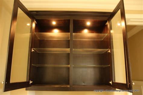 cabinet lighting repairs and installs