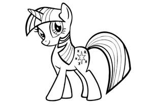 twilight sparkle coloring page my pony coloring pages twilight sparkle cooloring