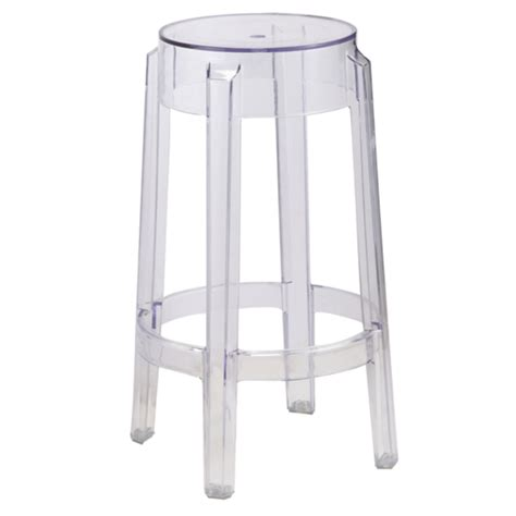 Clear Stool by Clear Counter Stool