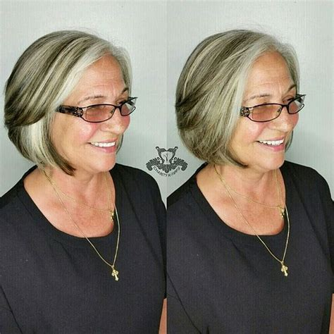what are low lights for women in 60 60 gorgeous hairstyles for gray hair