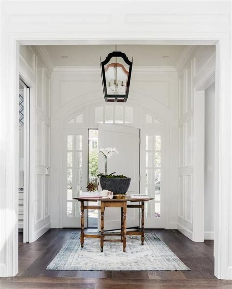 House Entry Furniture 17 Best Ideas About White Front Doors On