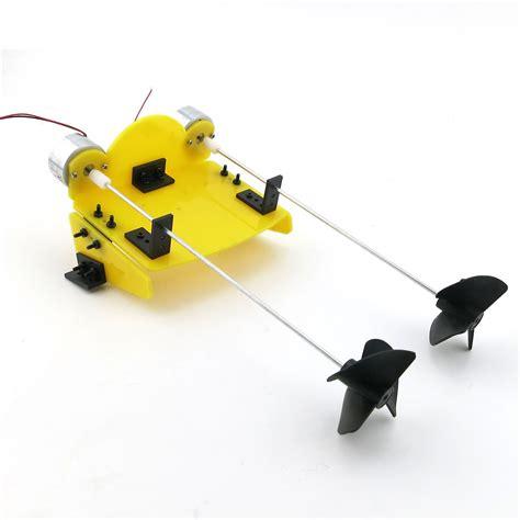 toy boat motor propeller diy electric propeller model kit boat ship hobby motor