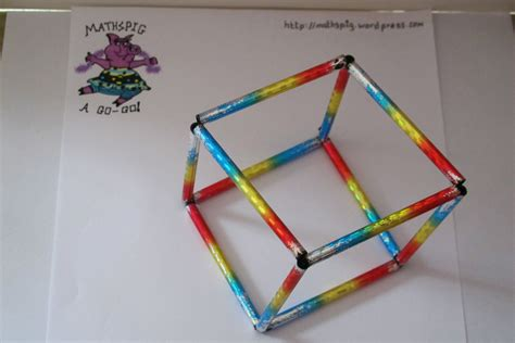 How Do You Make A 3d Cube Out Of Paper - build your own cube mathspig