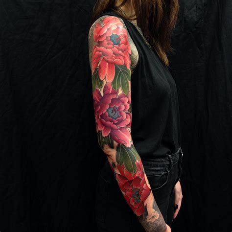 flower background tattoo designs 25 sleeve ideas you ll forever