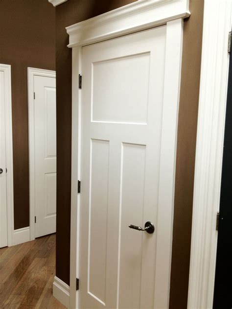 Interior Door Trims Craftsman Door And Molding Trim Dyi Moldings Pinterest Craftsman Door Craftsman And