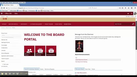 sharepoint hr template sharepoint office 365 board portal template