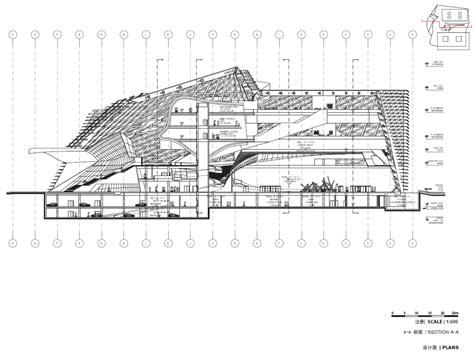 museum floor plan dwg isozaki museum of contemporary art museum of contemporary art and planning exhibition by coop